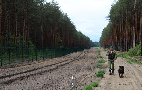 Государственным пограничным комитетом определены места въезда в пограничную полосу