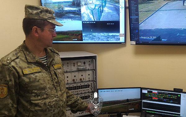 На участке пограничной заставы «Томашовка» введен в эксплуатацию современный сигнализационный комплекс