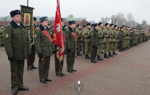 Более 400 военнослужащих пополнили ряды брестских пограничников