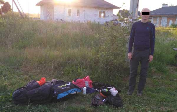 Парапланерист из Польши за незаконное пересечение границы наказан штрафом в Br690
