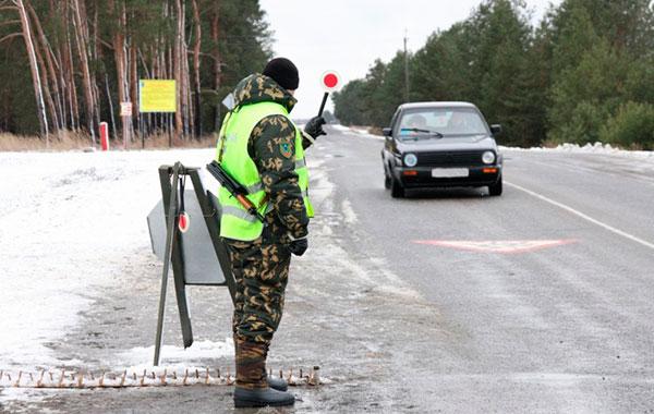 Попытка скрыться от пограничников закончилась задержанием