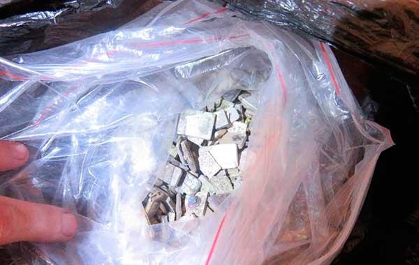 пункте пропуска «Мокраны» у жителя Бреста изъято более 13 килограммов серебра